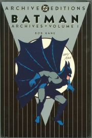 Batman Archives Volume #1 Hardcover Dynamic Forces Signed Bob Kane DF COA DC Comics book